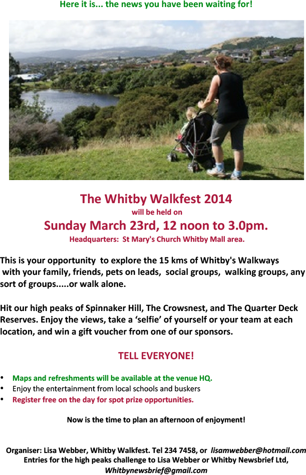 Whitby Walkfest
